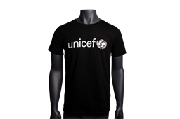 Sort UNICEF t-shirt herre