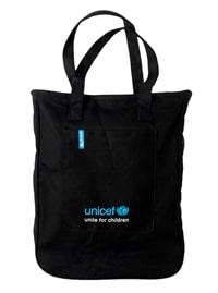 UNICEF-shopper net i 100% bomuld